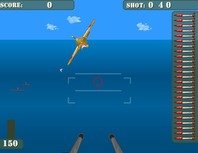 Shooting-game-online-með-avion